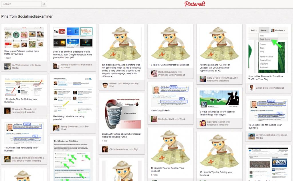 Social media examiner - Pinterest