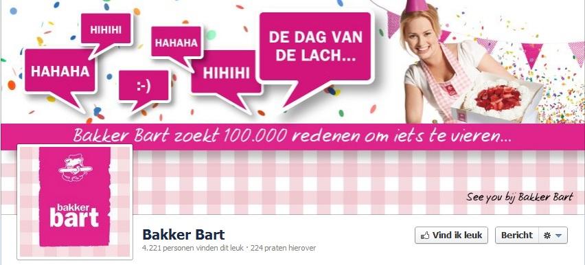 Facebook omslagfoto Bakkerij Bart