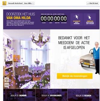 renault nederland facebook campagne