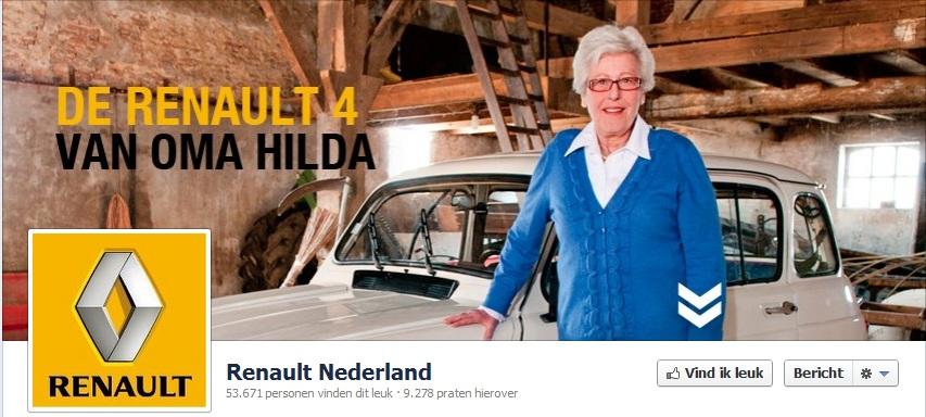 Renault Facebook omslagfoto
