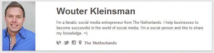 Pinterest Wouter Kleinsman