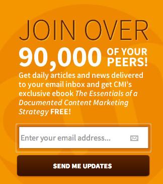 e-mailmarketing content marketing institute