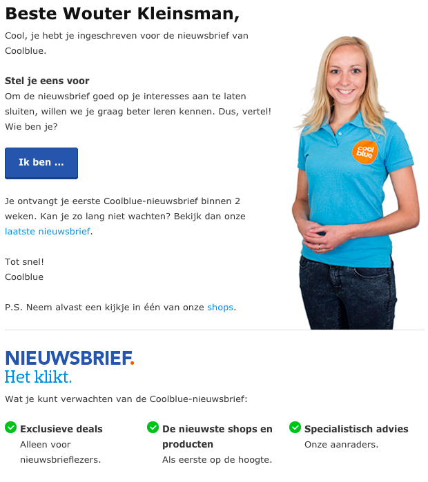 e-mailmarketing coolblue