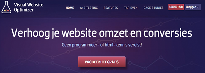 Internet marketing tool Visual website optimzier