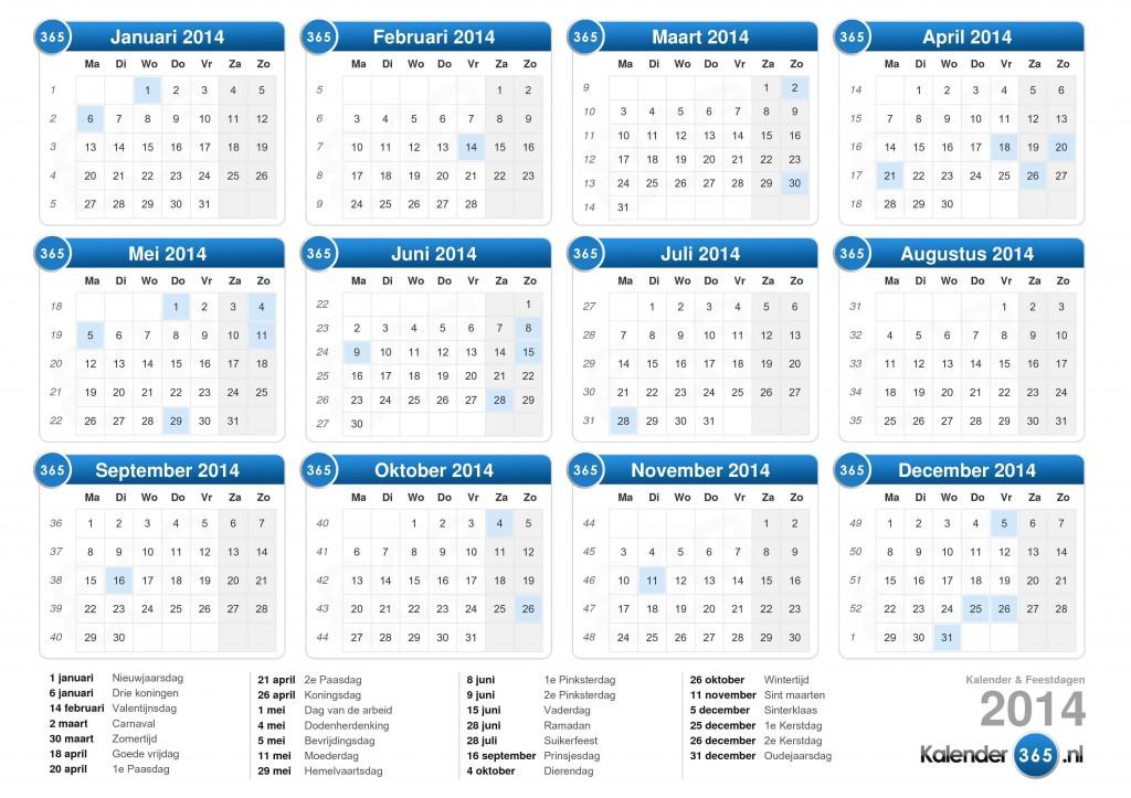 Social-mediacampagne - Feestdagen 2014