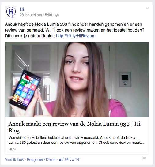 sociale online marketing - Hi