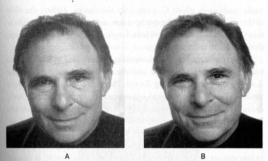 linkedin-profiel foto - fake smile en echte gimlach