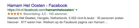 facebook referentie - hamam het oosten