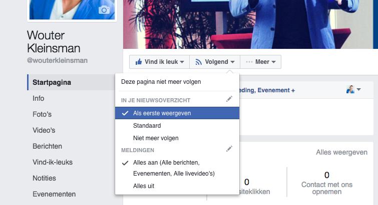 facebook zakelijk meer bereik met meldingen