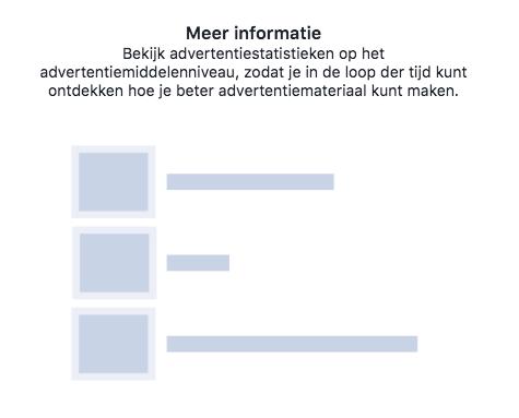 Facebook dynamisch advertentiemateriaal 3