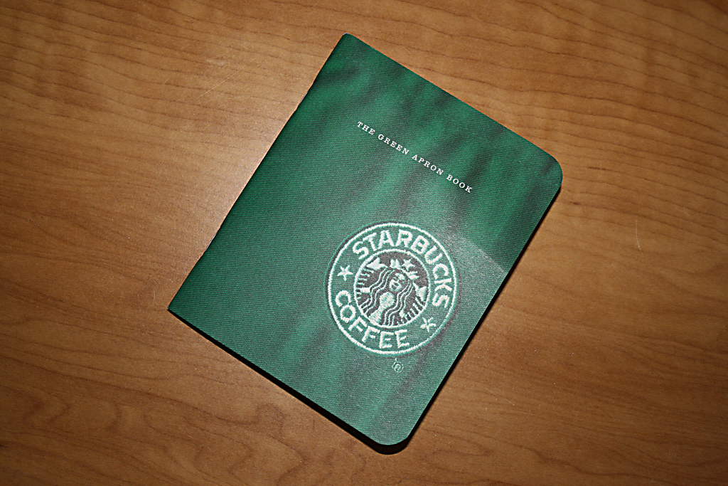 Starbucks Green Apron Book